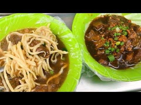 FILIPINO STREET FOOD CHEAPEST BEEF PARES MAMI IN DIVISORIA TONDO MANILA HELLO FATIMA