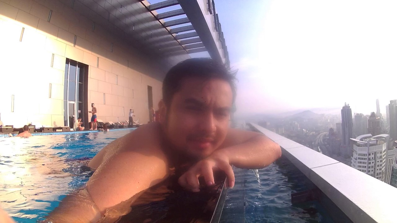 Skydeck rooftop swimming pool the face suite kuala lumpur - Homestay in kuala lumpur with swimming pool ...
