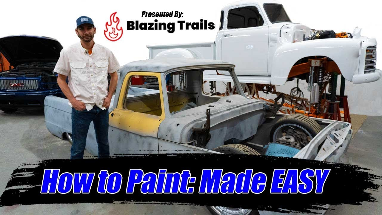 Video #3: How to Paint Made EASY [Tips and Tricks]