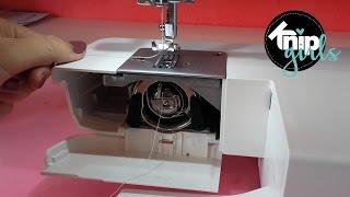 Tutorial spoeltje maken & naaimachine inrijgen | KNIPgirls Rachel