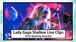 Lady Gaga Shallow clips 61st Grammy Awards (2019葛萊美獎頒獎典禮 女神卡卡 Shallow擱淺帶 片段) (中英字幕)