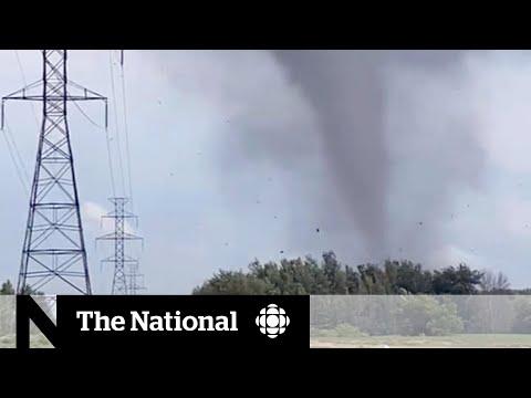 Deadly tornado strikes outside Montreal