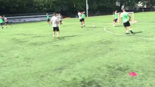 Cognitive Soccer SSG: Improving Vision & Scanning