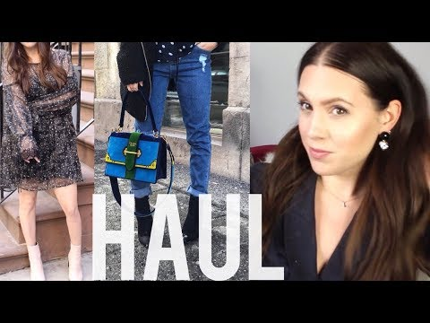 MASSIVE FEBRUARY TRY-ON HAUL: Fendi, Style Society, ALC and more...