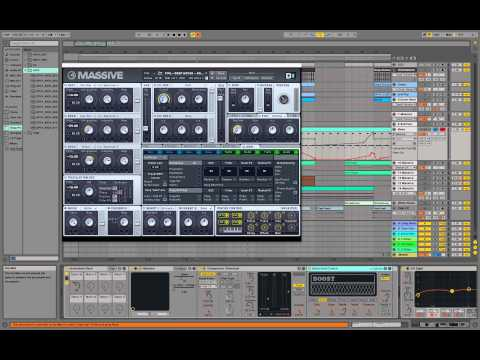 Tutorial: Using Massive for Deep House Electronica Sound Design in Kiasmos Ableton Future Bass Synth