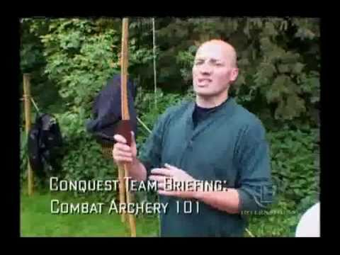 History Channel's Conquest - Part 1   Bowhunting Videos
