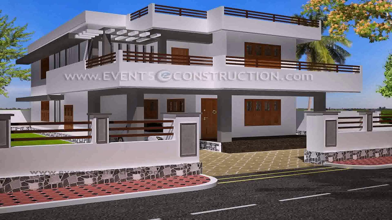 House Boundary Wall Main Gate Design Youtube