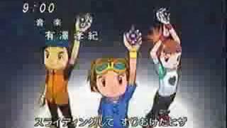 Digimon tamers (3) opening japones
