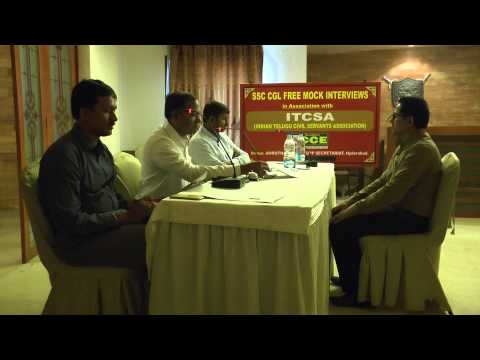 SSC CGL INTERVIEW BY KISHORE