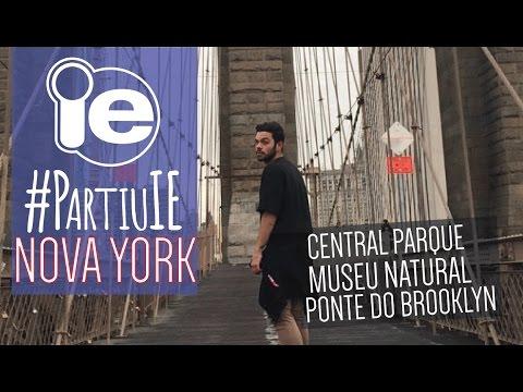 #PartiuIE em Nova York - FIM. Central parque, ponte do Brooklyn e Museu Natural