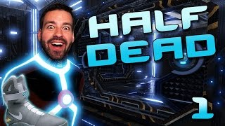 Throw Shoe, Don't Die! (Half Dead #1)(I try out a game called 'Half Dead' w/ some buds. Throw a shoe into testing chambers to see if it's booby trapped with deadly things, move on. The goal is to try ..., 2016-10-18T20:00:00.000Z)
