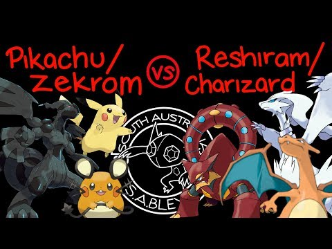 Pikachu Zekrom GX VS Reshiram Charizard GX - Unbroken Bonds Proxy Boxing - SUM - UBB