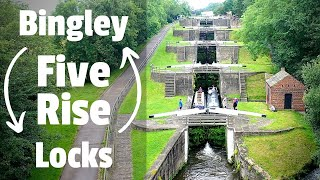 64.  The Bingley Five Rise FLOODED our Engine Bay!