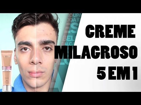 BB Cream L'oreal | Creme Milagroso 5 em 1 | Review