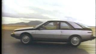 Renault Fuego 1982 TV commercial