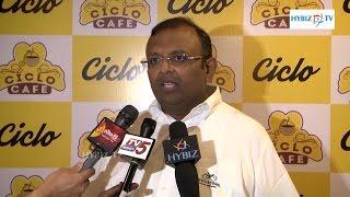 Arun Alagappan | TI Cycles | Ciclo Cafe Jubilee Hills Hyderabad | hybiz