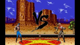 Sprite Battle - Nightwolf vs Chief Thunder