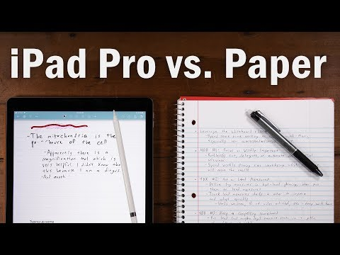 Best Note-Taking Device Ever? iPad Pro vs. Paper Notebooks
