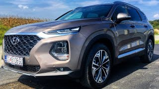 HYUNDAI SANTA FE 2019 | First look exterior, interior & trunk space, 2.2 CRDi 200 PS 4WD