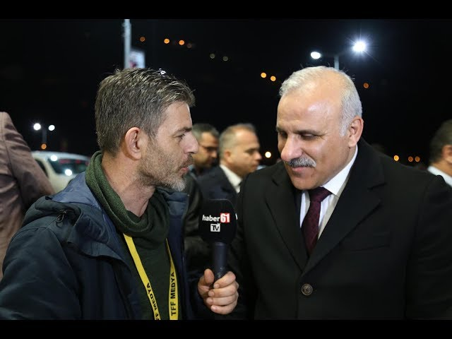 Trabzon'un yeni Büyükşehir Belediye Başkanı Murat Zorluoğlu Haber61'e konuştu