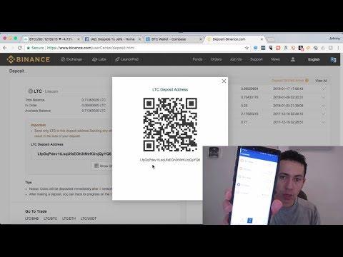 Bitcoin - Como Enviar De Coinbase A Binance