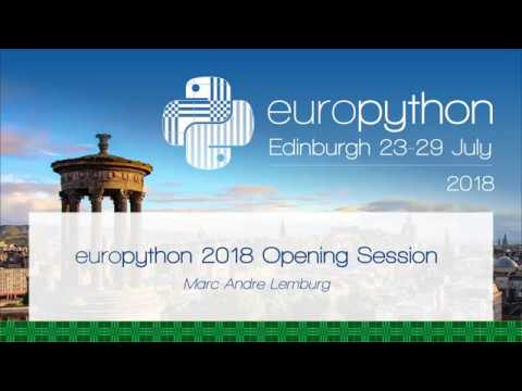 Image from EuroPython 2018 - Opening Session