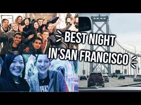 THE BEST NIGHT IN SAN FRANCISCO! USA VLOG #6