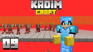 Kadimcraft 1: Bölüm 9 - YUMURTALI ve KOLAY ALTIN FARMI !!
