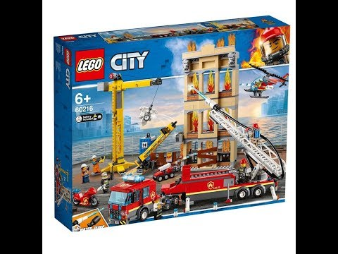 Lego city Fire Station 60216