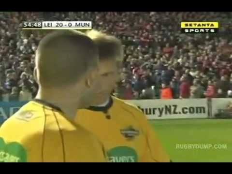 John Hayes stamps on Cian Healy  red card