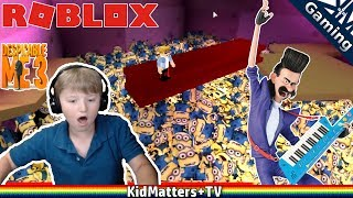 Download Video Escape the Minions!! Roblox | Despicable Me 3 movie | obby. Disco, 80's, OH MY! [KM+Gaming S01E43] MP3 3GP MP4