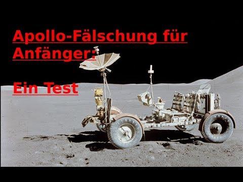 Apollo-Fälschung für Anfänger: Ein Test
