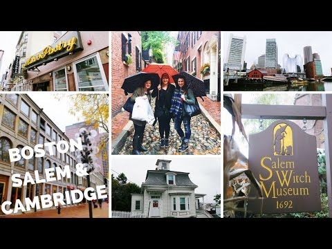 Salem, Boston, & Harvard Travel Vlog | As Told By