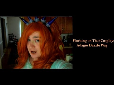 Working On That Cosplay: Adagio Dazzle Wig (Part 2)