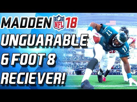 TALLEST PLAYER EVER IN MADDEN... HAROLD CARMICHAEL! UNGUARDABLE! - Madden 18 Ultimate Team