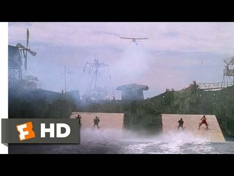 Waterworld (4/10) Movie CLIP - Attack on the Atoll (1995) HD