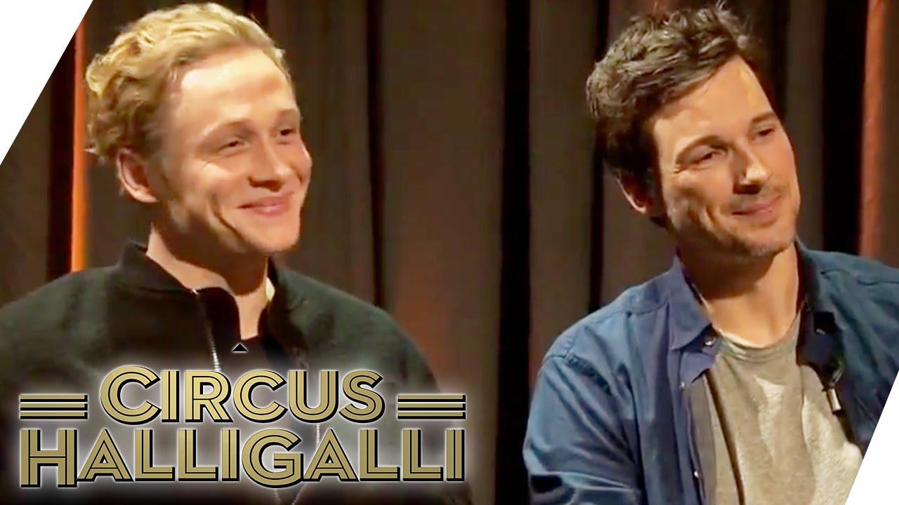 Matthias Schweighöfer Und Florian David Fitz Auf Promo Tour Circus