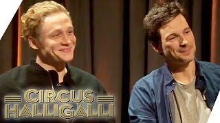 Matthias Schweighöfer und Florian David Fitz auf Promo-Tour | Circus HalliGalli