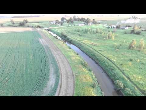 Kaskaskia River NW of Sadorus, IL