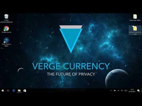 Verge XVG Paper Wallet Generator und Electrum Wallet