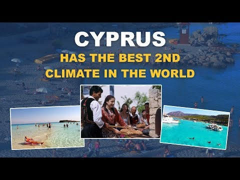 CYPRUS HAS THE BEST 2ND CLIMATE IN THE WORLD