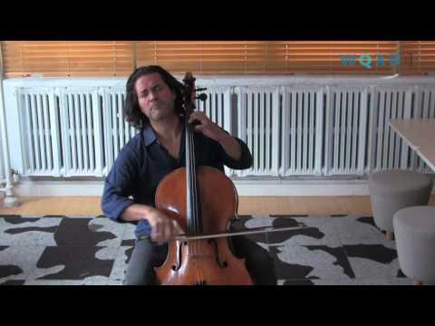 Zuill Bailey Plays Bach's Cello Suite No. 3 in the WQXR Café