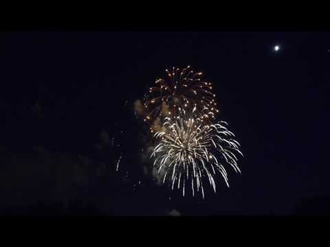 Canada 150 Fireworks at University of Waterloo 2017