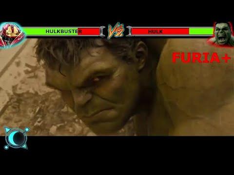 Hulk vs hulkbuster con barras de vida en español hulk vs hulkbuster withhealthbars