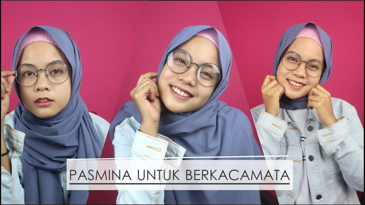 Tutorial Hijab Pashmina Kacamata Hijab Converse