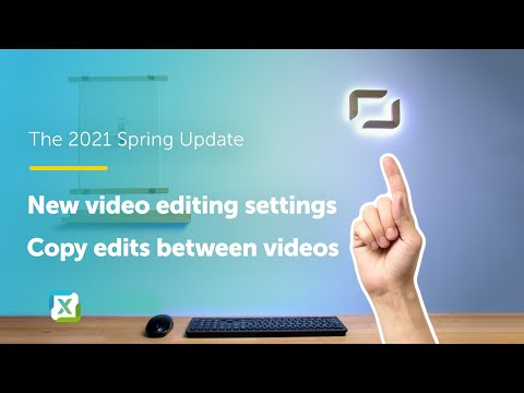 New video editing features