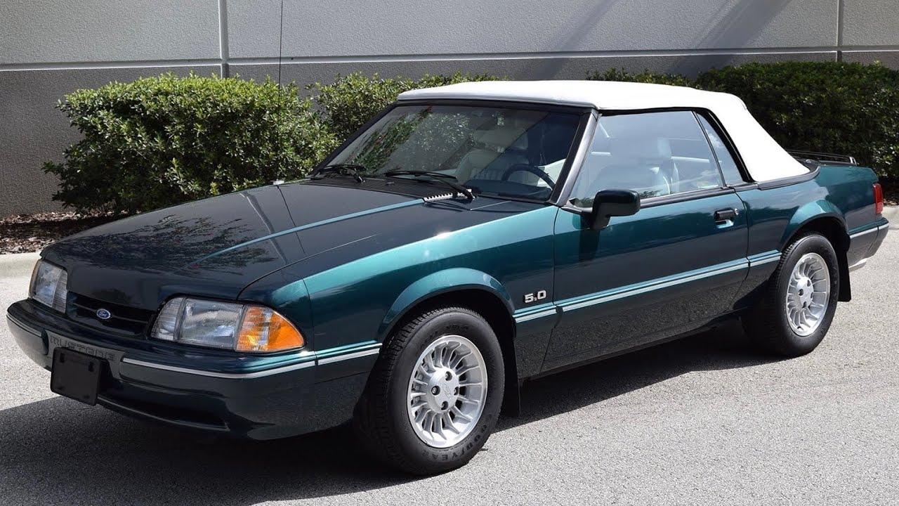 Fox body 5 0 mustang anniversary cars 7 up carolina ford dealers