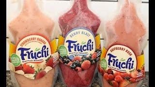 Fruchi: Strawberry Banana, Berry Blast & Raspberry Rush Review