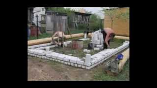 быстрая стройка бани