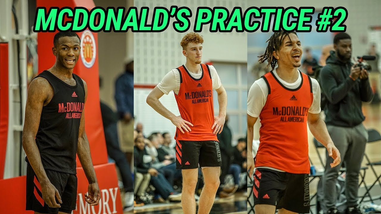 b61dc2b68fa6 McDonald s All Americans Go 1 ON 1!!! Nico Mannion